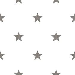 Tapeta biała w szare gwiazdki hashtag 11067