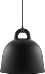 Lampa bell czarna medium