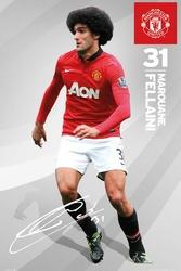 Manchester United Marouane Felanni 1314 - plakat