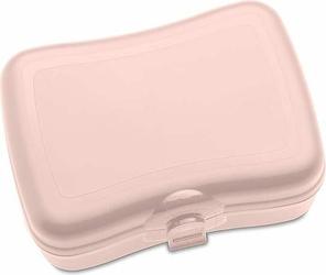 Pudełko na lunch Basic bladoróżowe