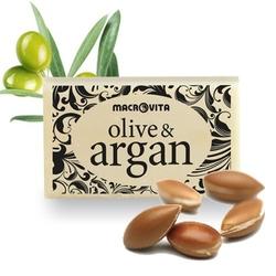 Macrovita olive  argan mydło z oliwą z oliwek i olejkiem arganowym 50g
