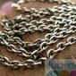 Antica - srebrny łańcuszek 70cm