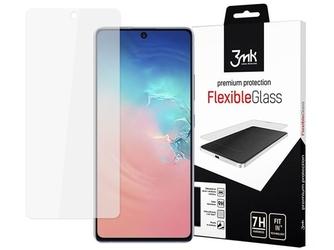 Szkło 3mk flexible glass 7h do samsung galaxy s10 lite + szkło na obiektyw 3mk