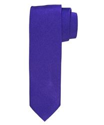 Fioletowy krawat jedwabny