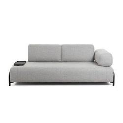 Tapicerowana sofa combre 232cm szara
