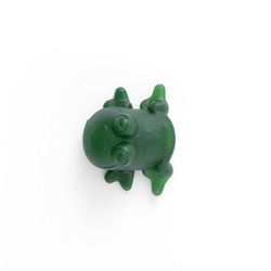 Żabka kąpielowa z naturalnego kauczuku hevea - zielona
