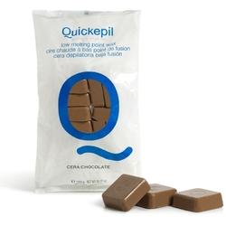 Quickepil wosk twardy bezpaskowy do depilacji 1 kg czekolada