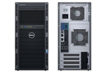 Dell T130 E3-1220v6 8GB 2x1TB H330 DVDRW 3Y