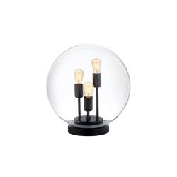 Kaspa - lampa stojąca surya, czarna - czarny