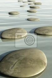 Fototapeta kamienie kroku