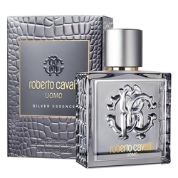 Roberto cavalli uomo silver essence perfumy męskie - woda toaletowa 40ml - 40ml