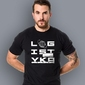 Logistyka t-shirt męski czarny l