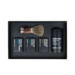 Zew for men zestaw prezentowy dla golibrody z pędzlem do golenia muhle