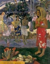 Ia orana maria, paul gauguin - plakat