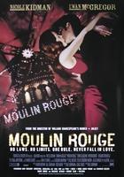 Moulin Rouge Nicole Kidman, Ewan Mc Gregor - plakat