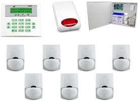 Zestaw alarmowy satel ca-10 lcd, 7 czujek, sygnalizator zewnętrzny - możliwość montażu - zadzwoń: 34 333 57 04 - 37 sklepów w całej polsce