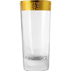 Szklanka do long drinków kryształowa Hommage Gold Classic Zwiesel - 2 sztuki SH-1372-79-2