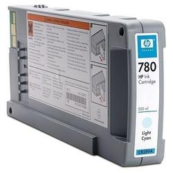 Tusz hp 780 wkład atramentowy jasny błękitny 500 ml