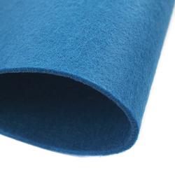 Dekoracyjny filc gładki 30x45 cm -niebieski ciemny - NIECIE