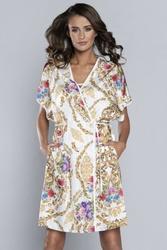 Szlafrok damski italian fashion gold