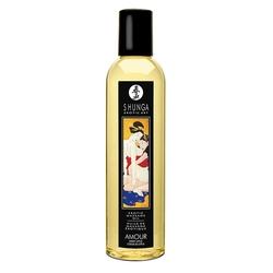 Olejek do masażu - shunga massage oil  - amour sweet lotus