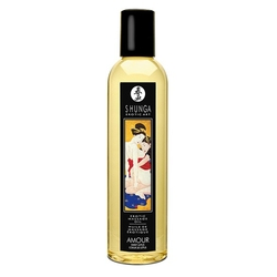 Olejek do masażu - shunga massage oil  - amour sweet lotus