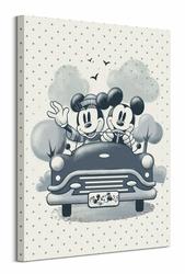 Myszka Miki i Minnie - obraz na płótnie