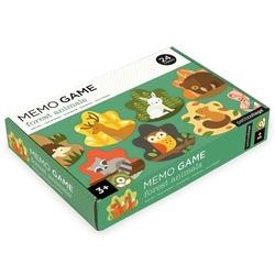 Gra memo petit collage  - zwierzęta leśne