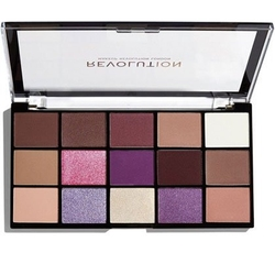 Makeup revolution re-loaded visionary paletka cieni do powiek 15x0.04oz1.1g