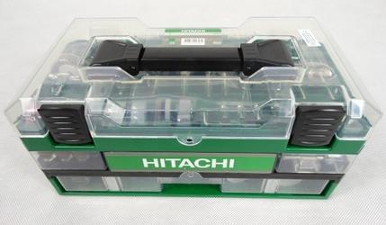 Zestaw szlifierski hitachi 753949 do drewna metalu 389 sztuk