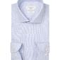 Biała koszula podróżna profuomo w mikro wzór slim fit 43