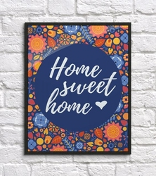 Homme sweet home - plakat