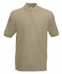 Koszulka polo Fruit of the Loom Premium - 632180 3M - khaki || Niebieska || beżowy || Biały