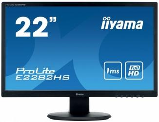 Iiyama monitor 22 e2282hs-b1 1ms  hdmi  dvi  vga  flicker