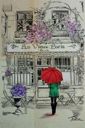 Au vieux paris - plakat