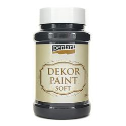 Farba Dekor Paint Soft 500 ml - czarny - CZA