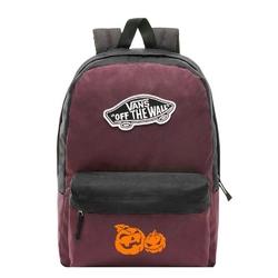 Plecak szkolny vans realm prune purple black - vn0a3ui6tqr - custom halloween pumpkins - halloween pumpkins