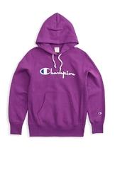 Bluza champion hooded sweatshirt 212574-vs029 - fioletowy