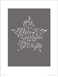Christmas Star Wonder - plakat premium