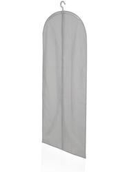 Długi pokrowiec na ubrania, szary