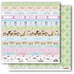 Papier A Furry Little Story - Kitty Cards 1 - KC1
