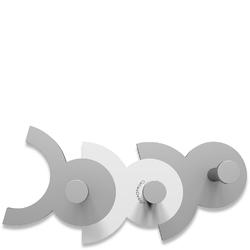 Wieszak ścienny Diennea CalleaDesign biały, aluminiowy 13-014-1