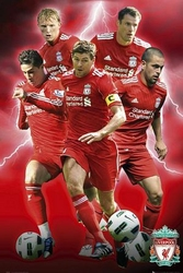 Fc Liverpool Players 1011 - plakat