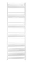 Grzejnik łazienkowy york - wykończenie proste, 600x1800, białyral - biały
