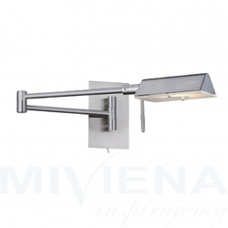 Adjustable kinkiet 1 stal szkło