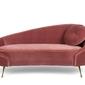 Bold monkey sofa i am not a croissant różowa bm32009