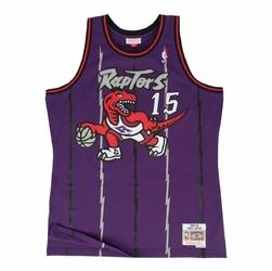 Koszulka Mitchell  Ness NBA Toronto Raptors Vince Carter Swingman SMJYGS18214-TRAPURP98VCA - Carter Away