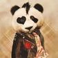 Rock panda - plakat
