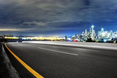 Fototapeta droga do miasta 290a