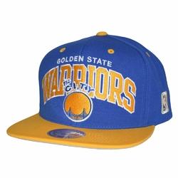 Czapka Mitchell  Ness NBA Golden State Warriors Team Arch Snapback